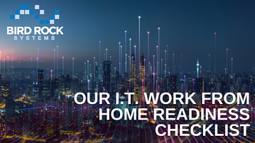 I.T. Work From Home Readiness Checklist Cover Image-2